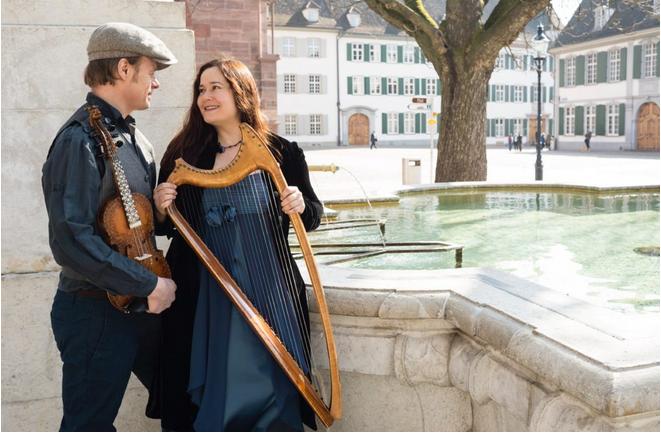 Arianna Savall und Petter Udland Johanson vom Ensemble Hirundo Maris