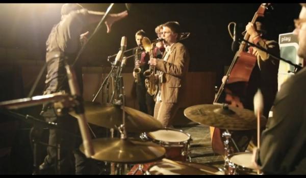 Jazzmusiker auf der Bühne