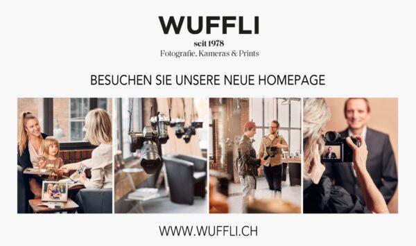 Das Logo vom Fotogeschäft Wuffli in Chur, ein innovatives Team